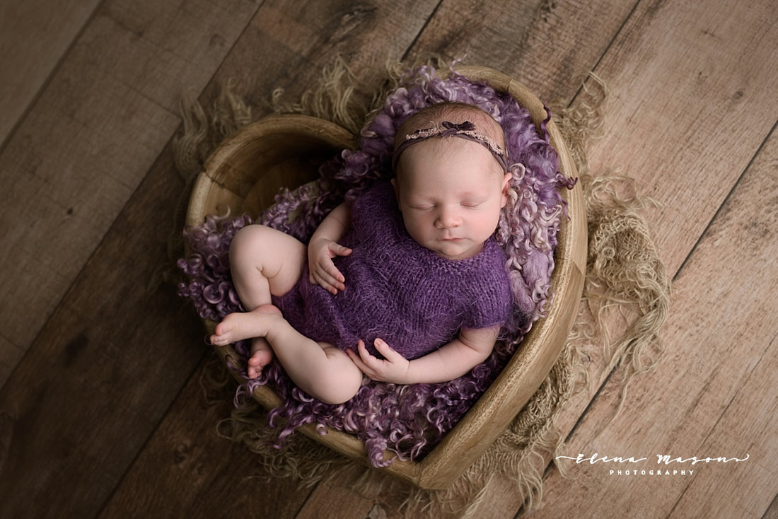 baby in pink hat, belfast newborn photographer, elena mason photography